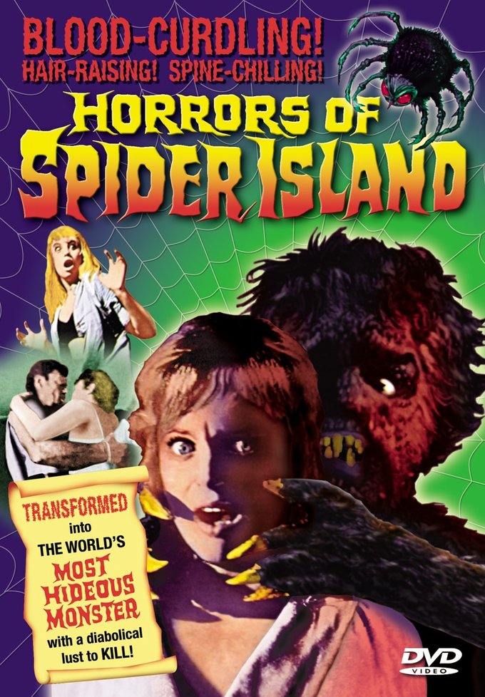 "Horrors of Spider Island - 11"" x 17"" Poster"