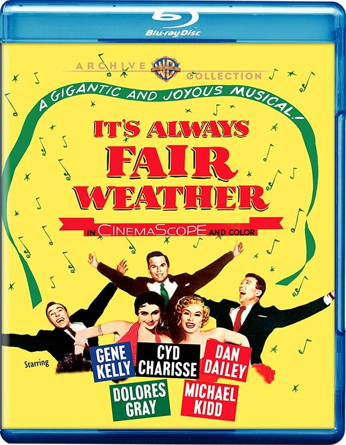 It's Always Fair Weather (Blu-ray) (1955) Directed by ... Its Always Fair Weather