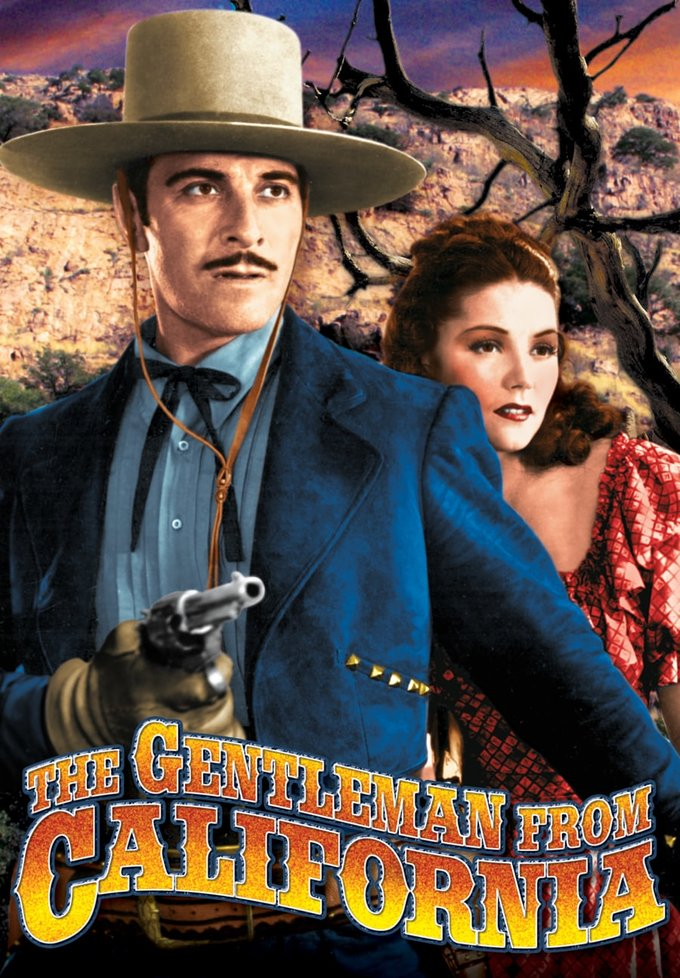 "Gentleman From California - 11"" x 17"" Poster"