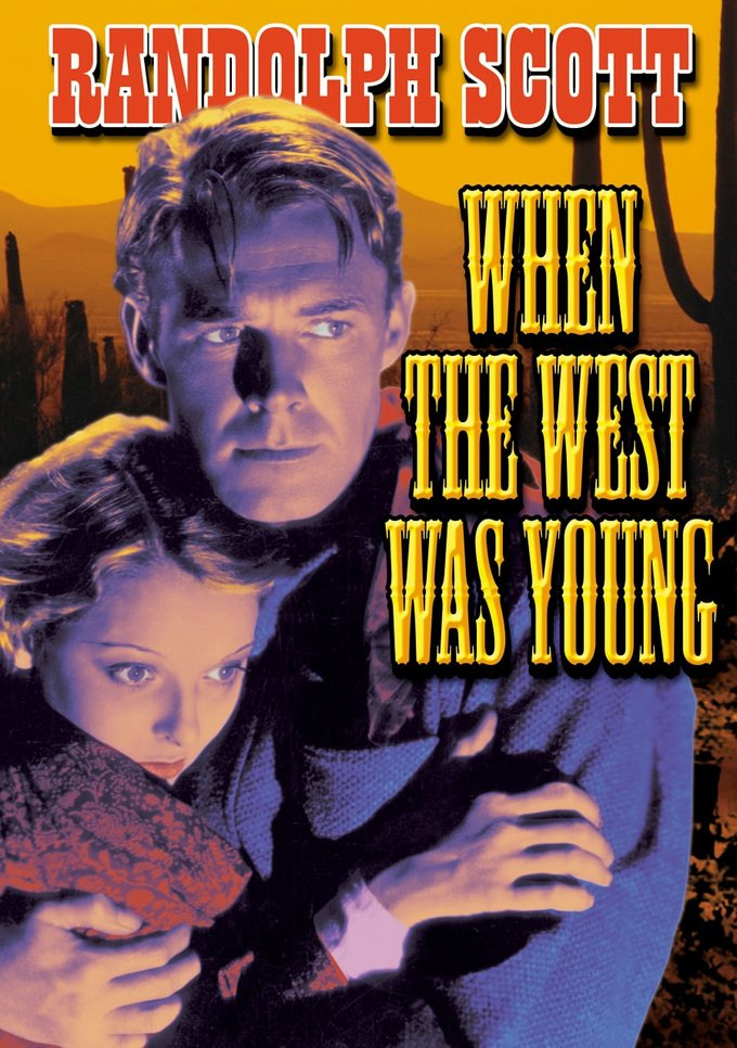 "When The West Was Young - 11"" x 17"" Poster"
