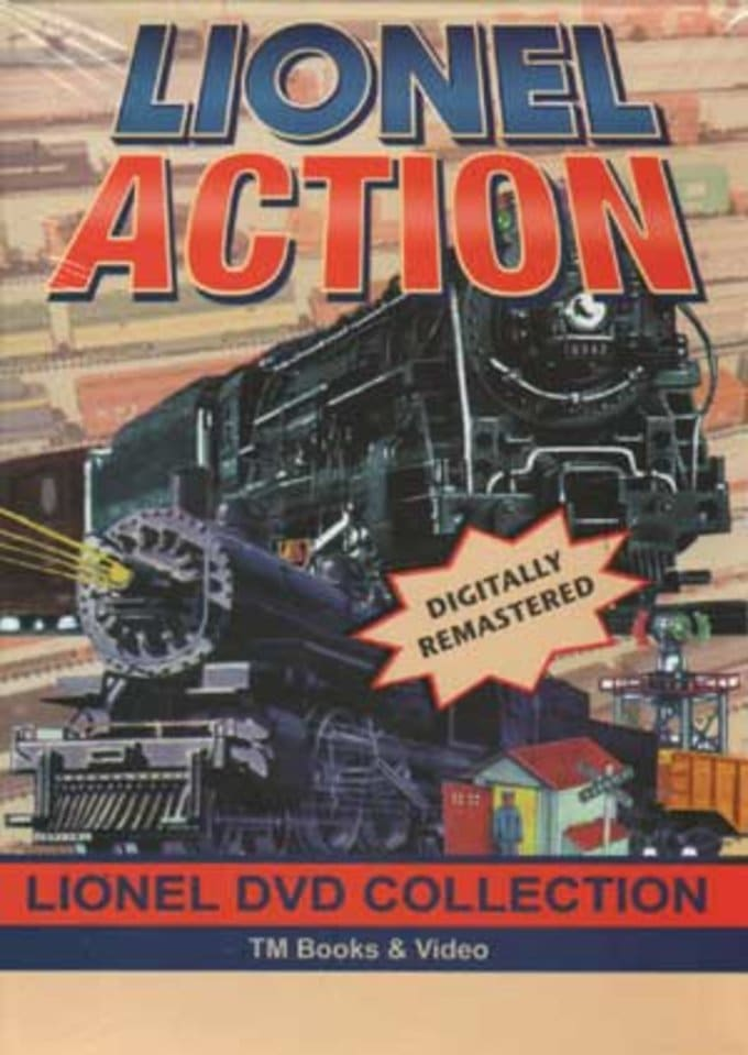 Trains (Toy) - Lionel Action (4-DVD)