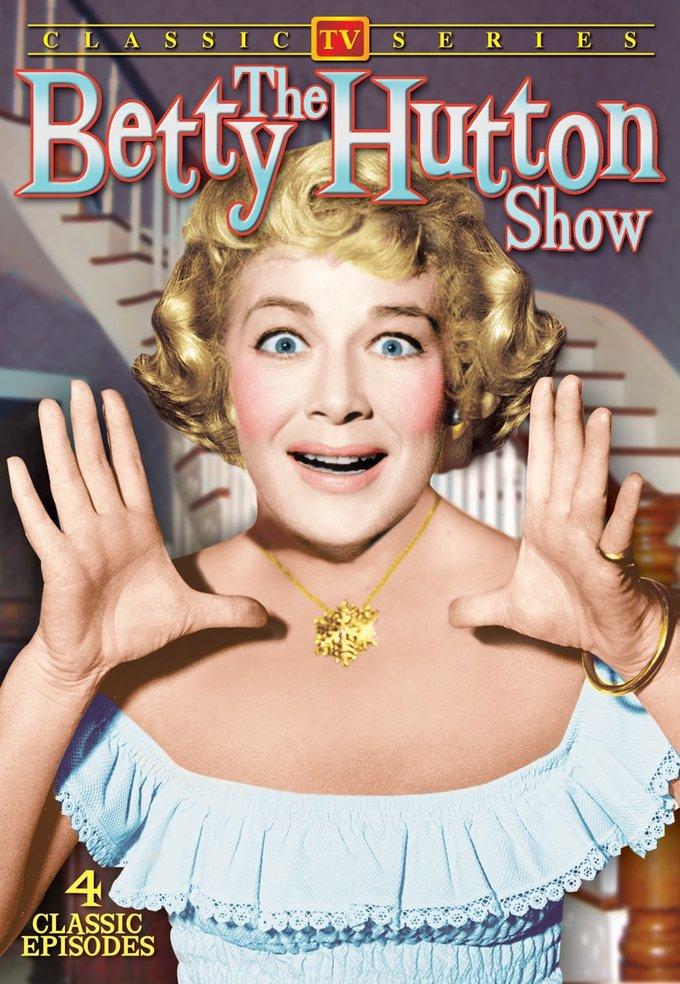"The Betty Hutton Show, Volume 1 - 11"" x 17"" Poster"