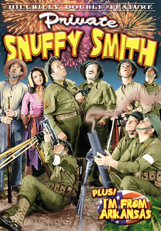 Hillbilly Double Feature: Private Snuffy Smith