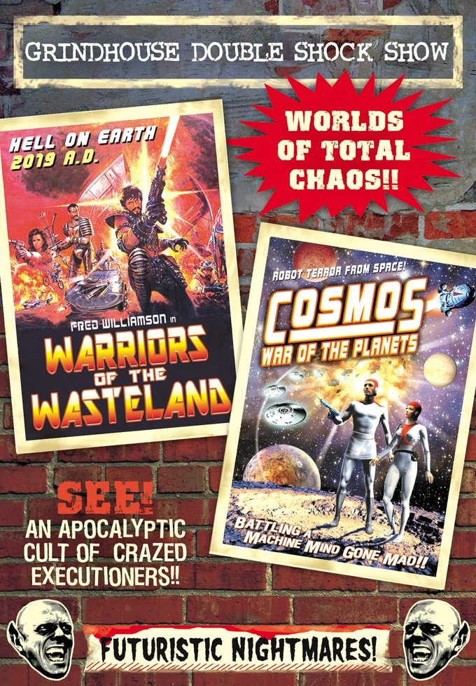 Grindhouse Double Shock Show: Warriors of the