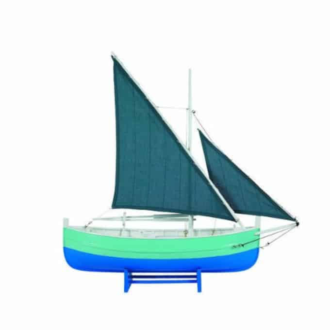 Biscay Fishing Boat, Blue