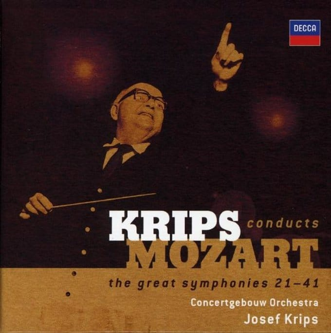 Krips conducts Mozart: The Great Symphonies 21-41