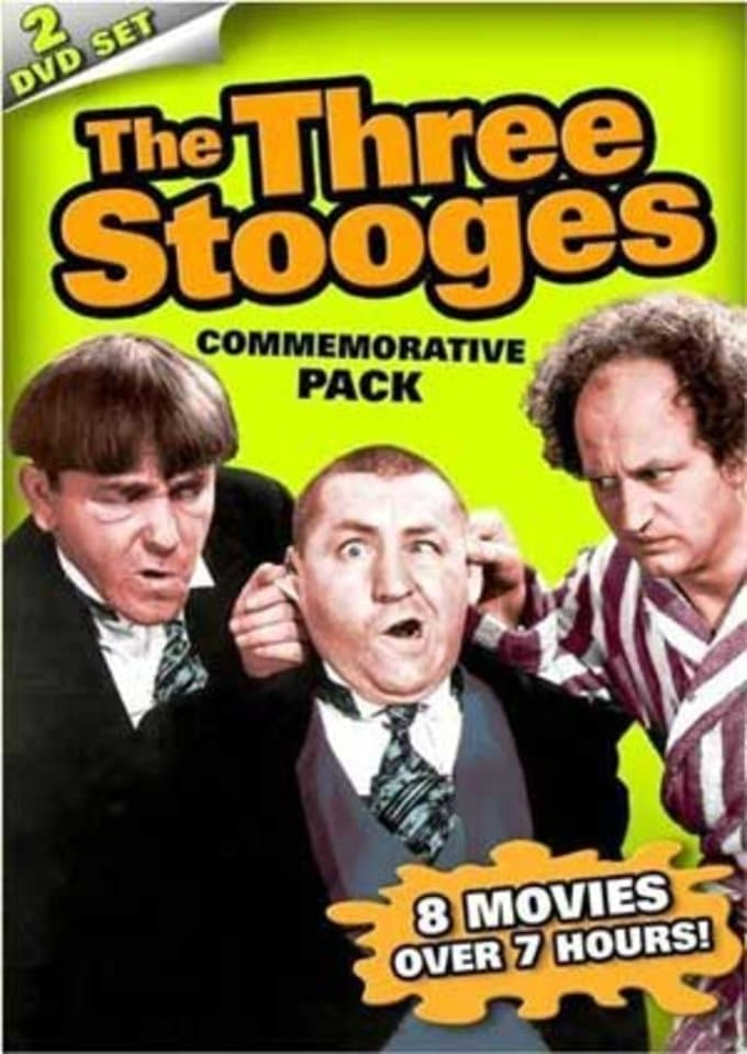 The Three Stooges Commemorative Pack (2-DVD)