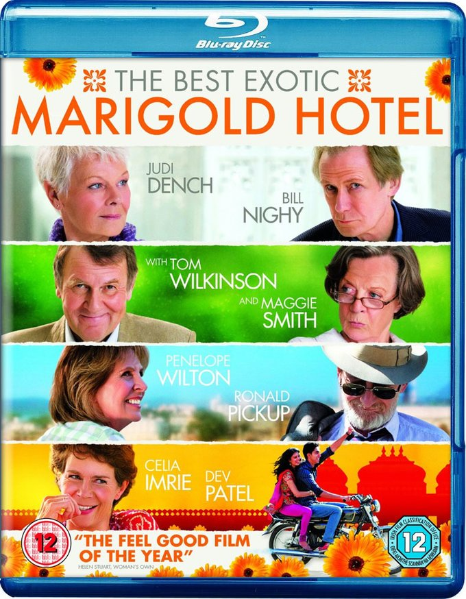 The Best Exotic Marigold Hotel [Import] (Blu-ray)