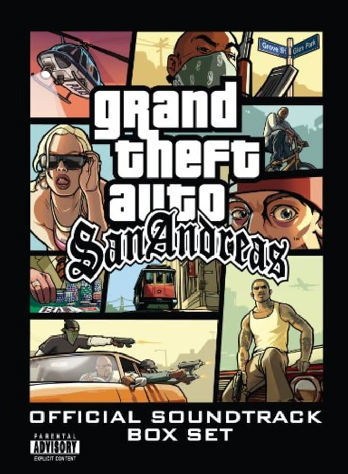 Grand Theft Auto: San Andreas [Box Set] (8-CD Box