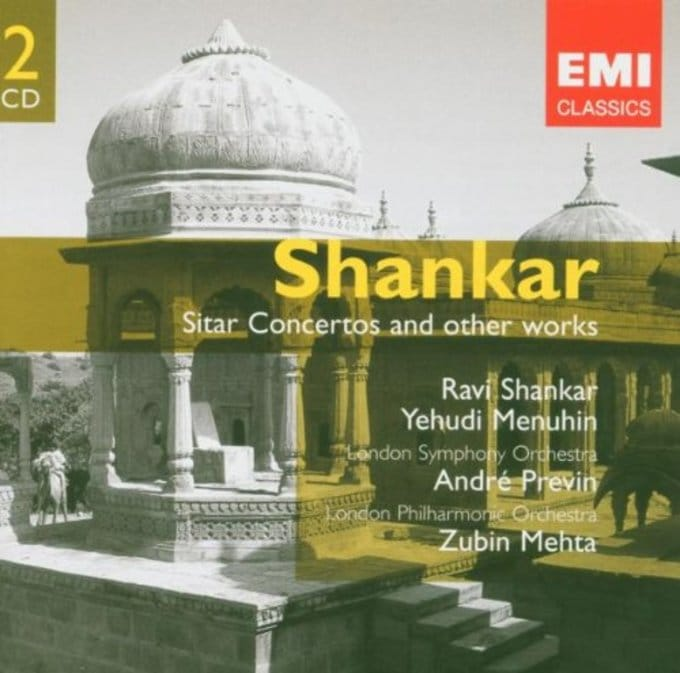 Shankar: Sitar Concertos and Other Works (2-CD)