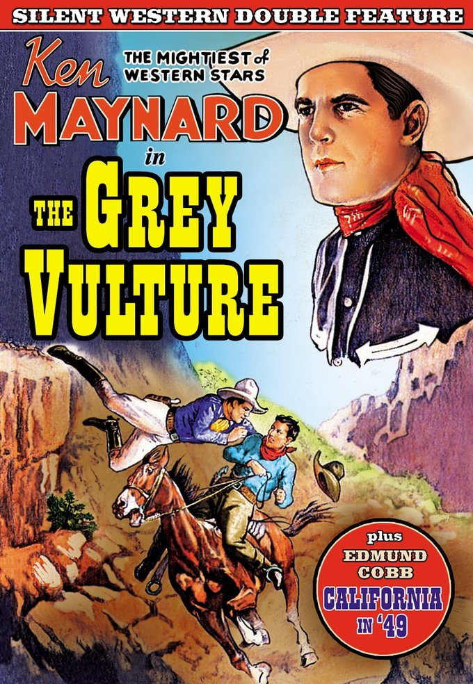 Silent Western Double Feature: The Grey Vulture