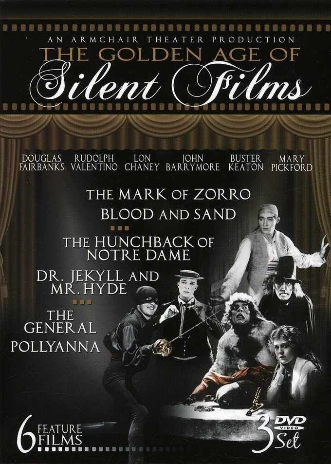 The Golden Age of Silent Films, Volume 1-3 (3-DVD)