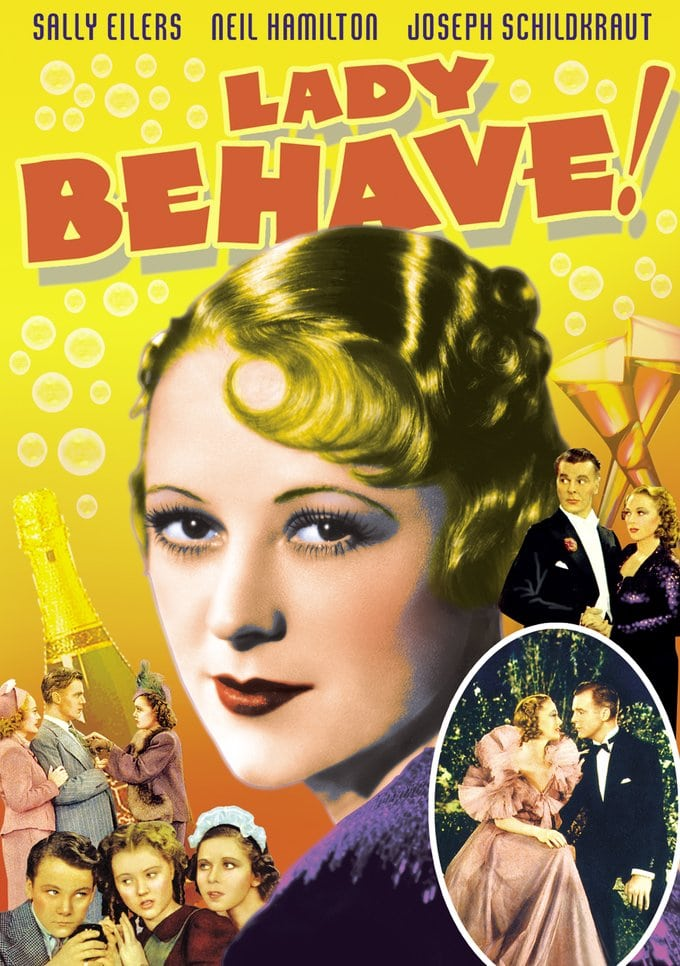 "Lady Behave! - 11"" x 17"" Poster"