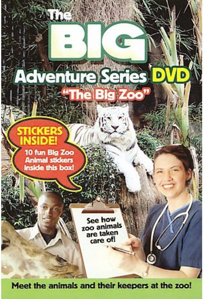 Big Adventure Series DVD: The Big Zoo