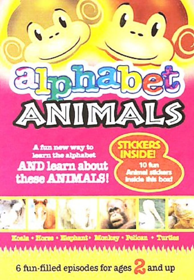 Alphabet Animals, Volume 1 (6 Episodes)