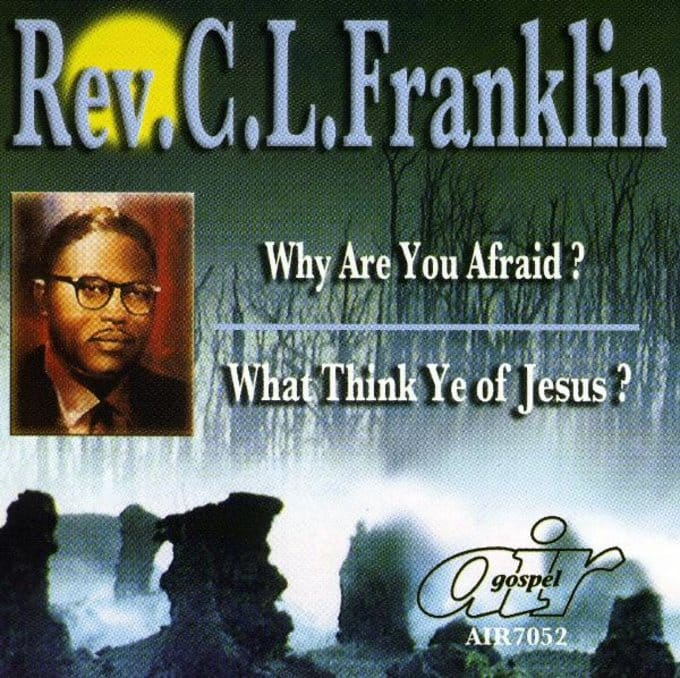 Why Are You Afraid?/What Think Ye Of Jesus