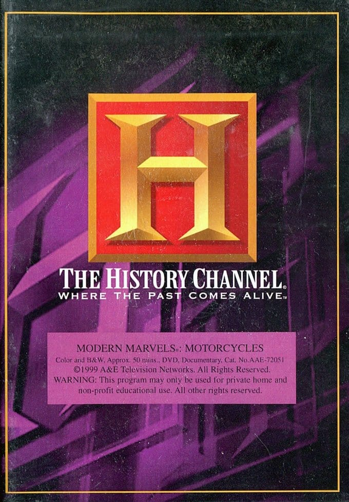 History Channel: Modern Marvels - Motorcycles