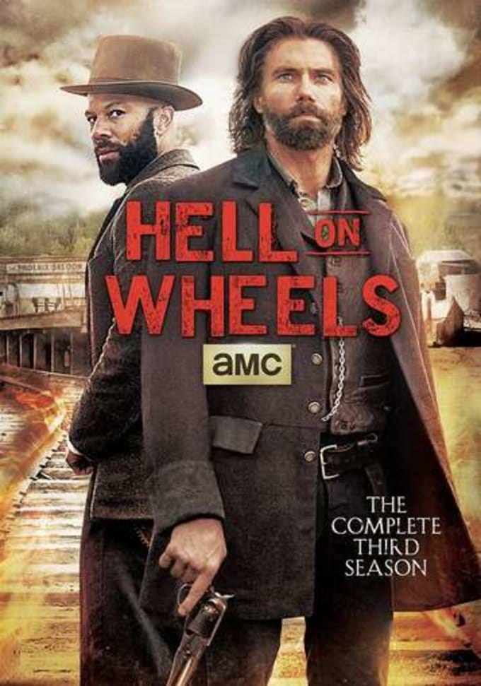 Hell on Wheels - Complete 3rd Season (3-DVD)