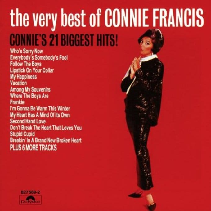 The Very Best of Connie Francis (21 tracks)