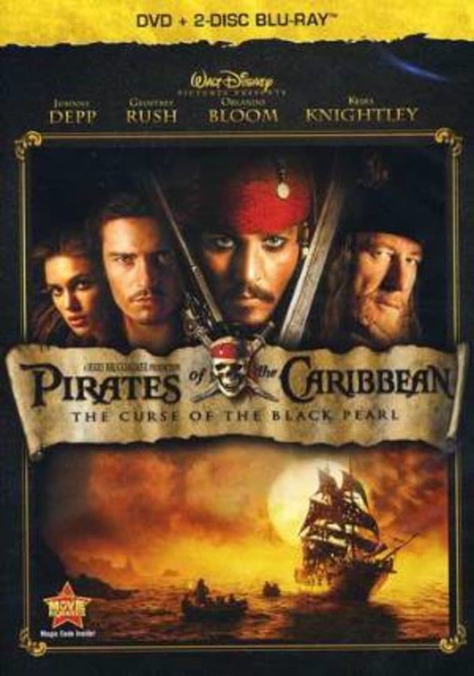 The Curse of the Black Pearl (DVD + Blu-ray)