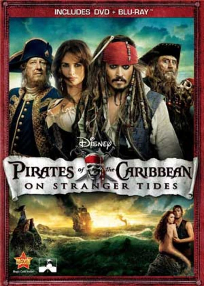 On Stranger Tides (DVD + Blu-ray)