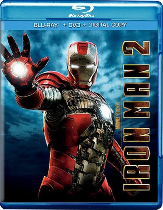 Iron Man 2 (Blu-ray + DVD)