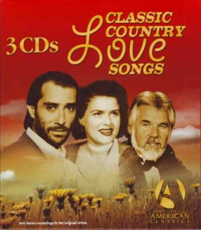 Classic Country Love Songs (3-CD)