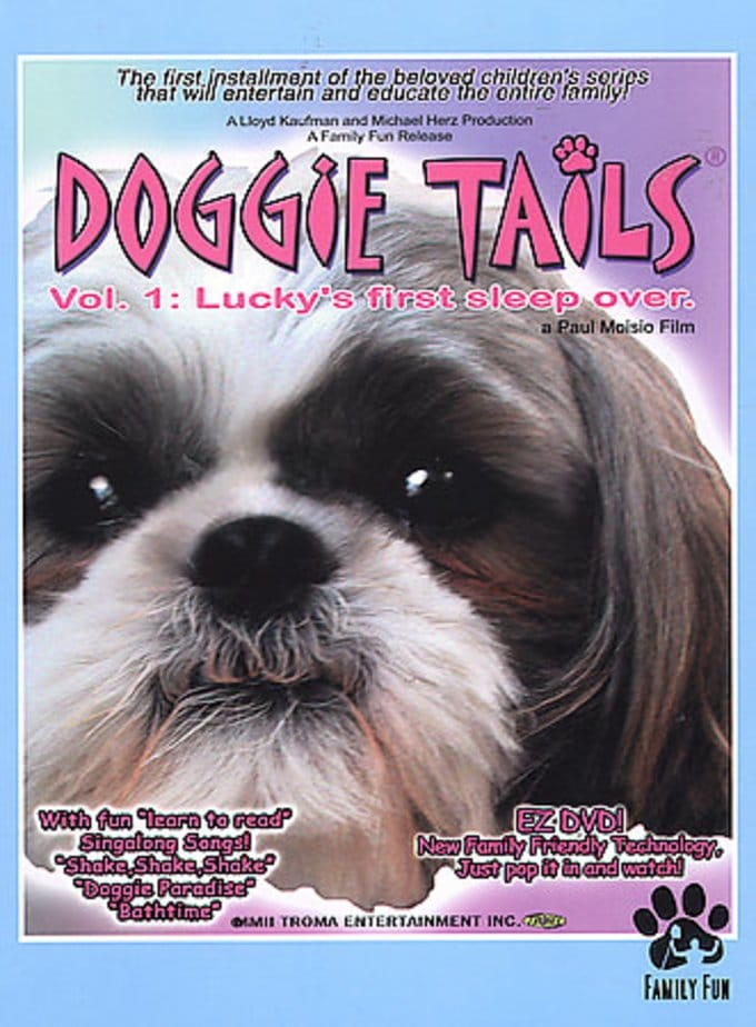 Doggie Tails, Volume 1: Lucky's First Sleep-Over