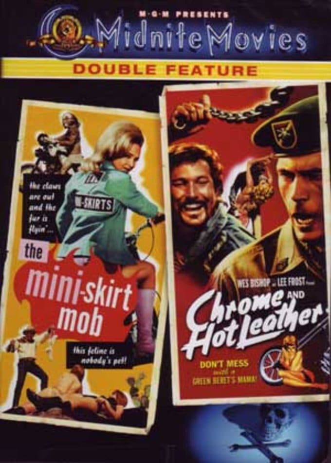 Midnite Movies Double Feature: Mini-Skirt Mob /