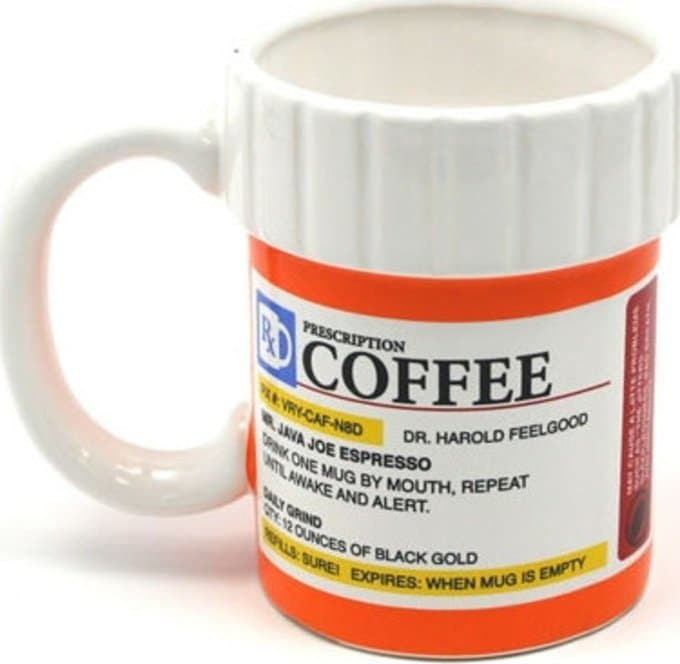 Prescription Bottle - 12 oz. Coffee Mug