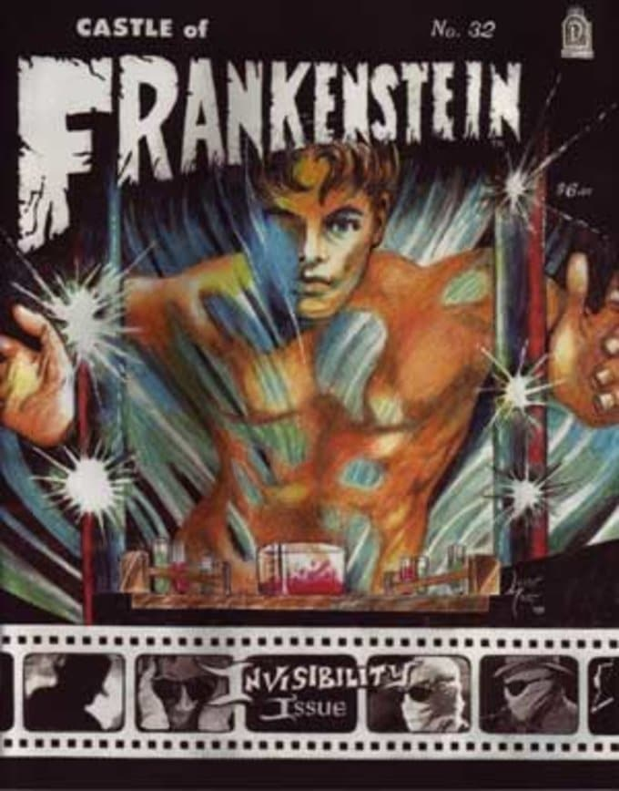 Castle Of Frankenstein #32 (Invisibility Issue)