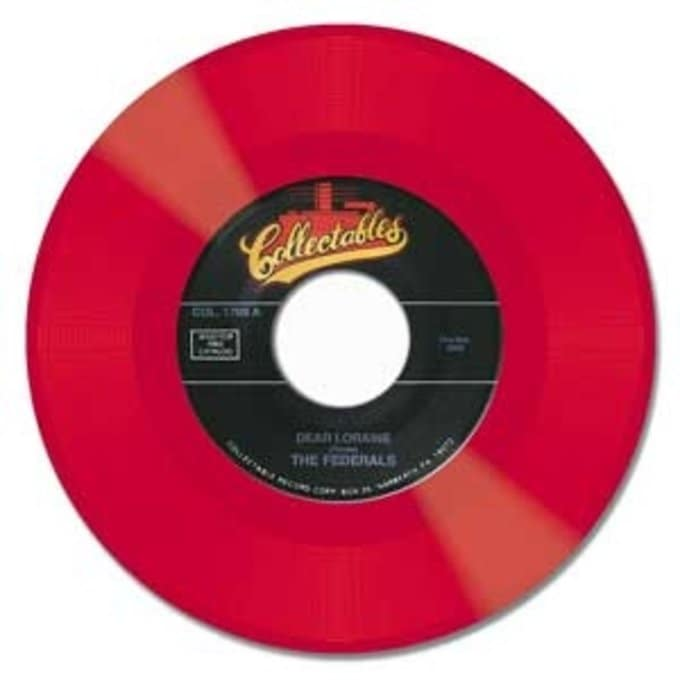 Dear Loraine / She's My Girl (Red Vinyl)