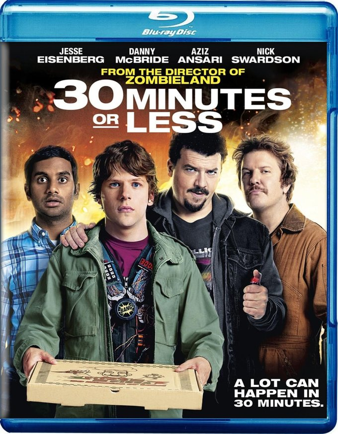 30 Minutes or Less (Blu-ray)