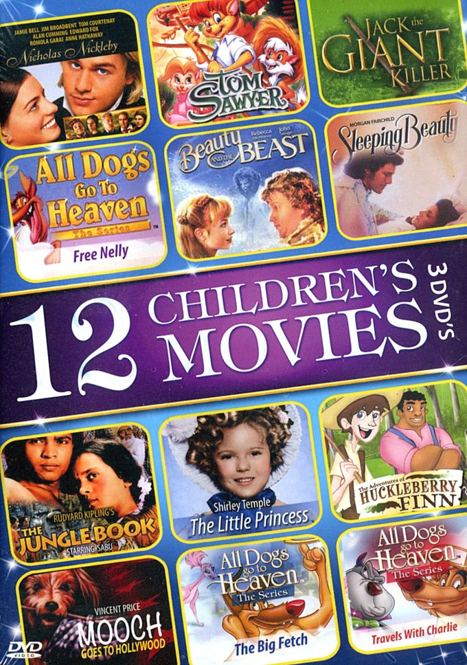 12 Children's Movies (3-DVD)
