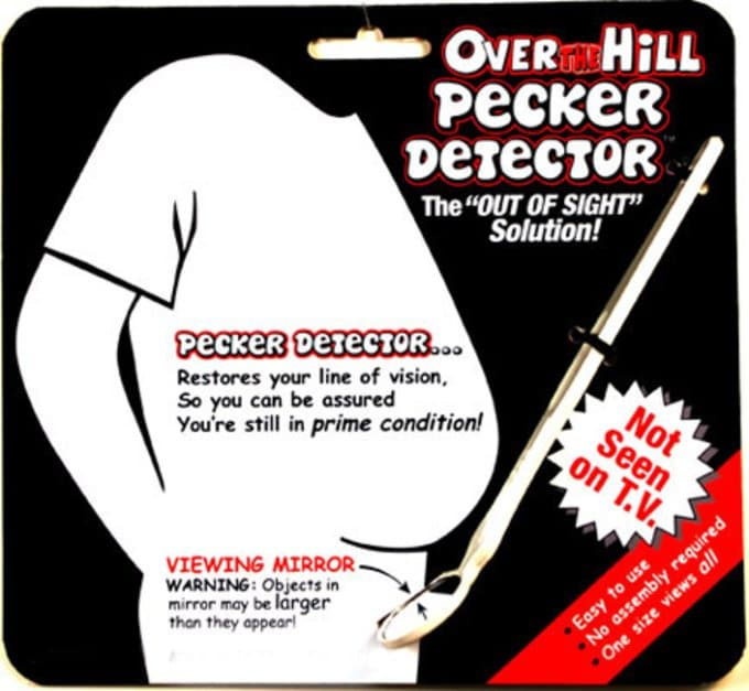 Over The Hill - Pecker Dectector
