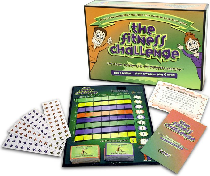 Fitness Challenge - Board Game