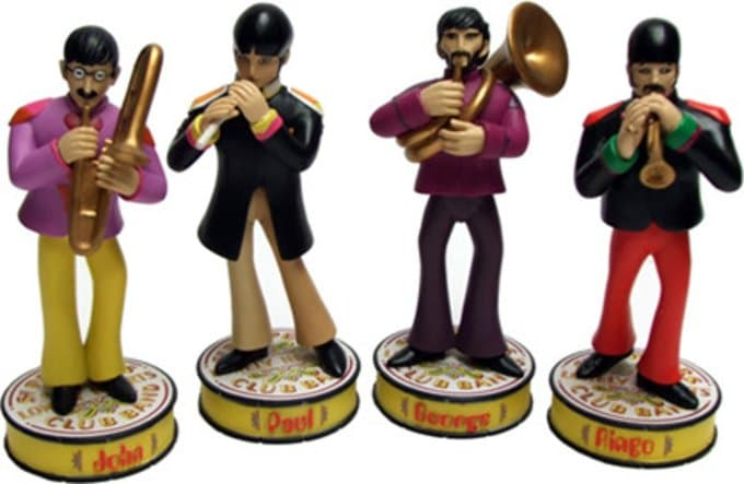 Yellow Submarine: 4-Piece Deluxe Shakems Set