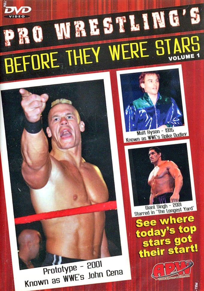 Pro Wrestling's Before They Were Stars, Volume 1