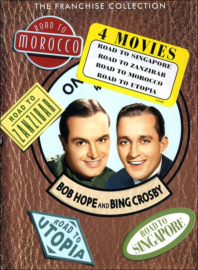 On the Road with Bob Hope and Bing Crosby: Road
