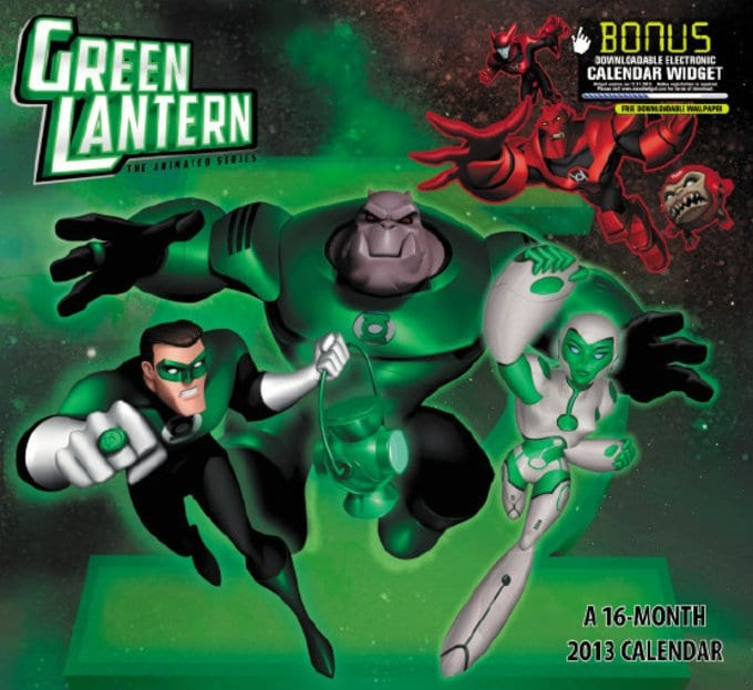 Green Lantern - The Animated Series Wall Calendar