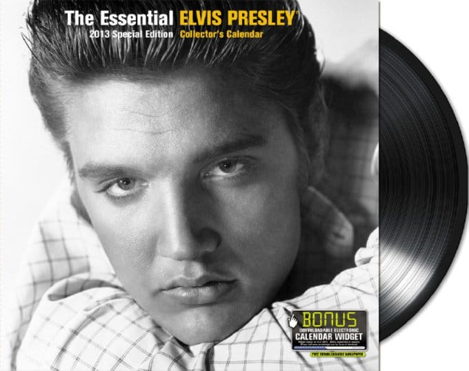 16-Month 2013 Elvis Special Edition Wall Calendar