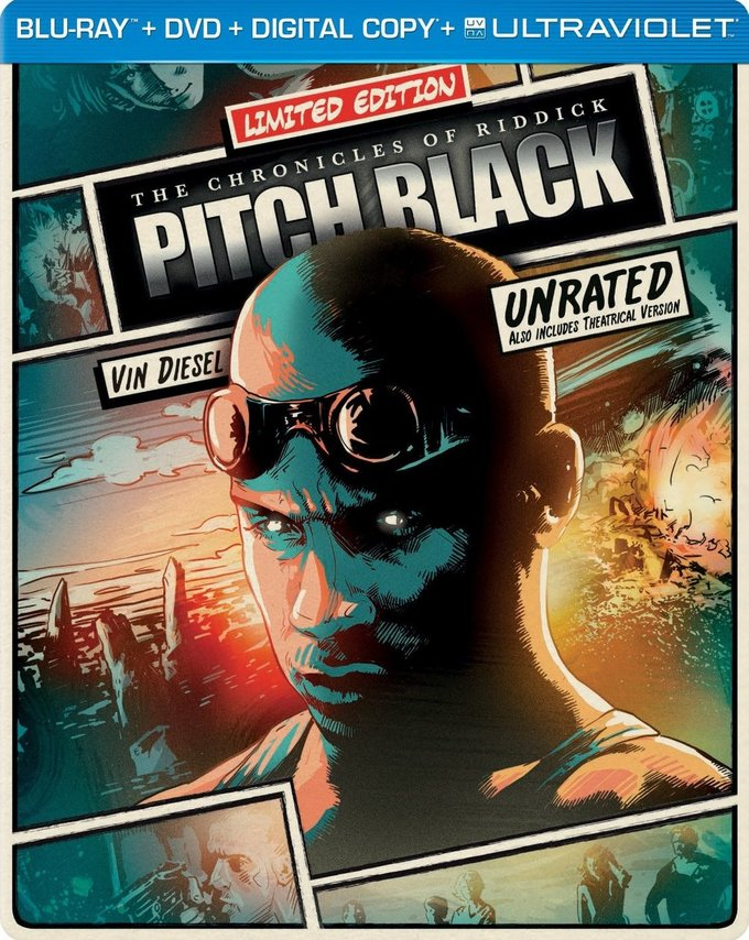 Pitch Black - Limited Edition (Blu-ray + DVD)