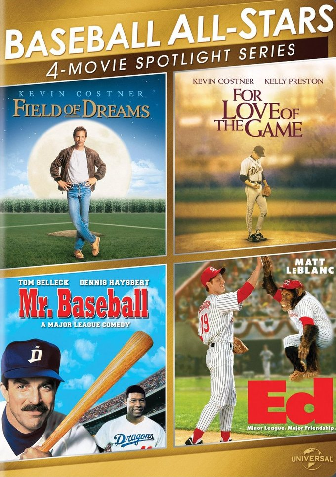Baseball All-Stars: 4-Movie Spotlight (2-DVD)