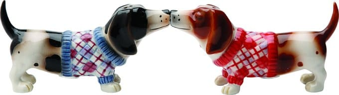 Nothing But A Hound Dog - Salt & Pepper Shakers
