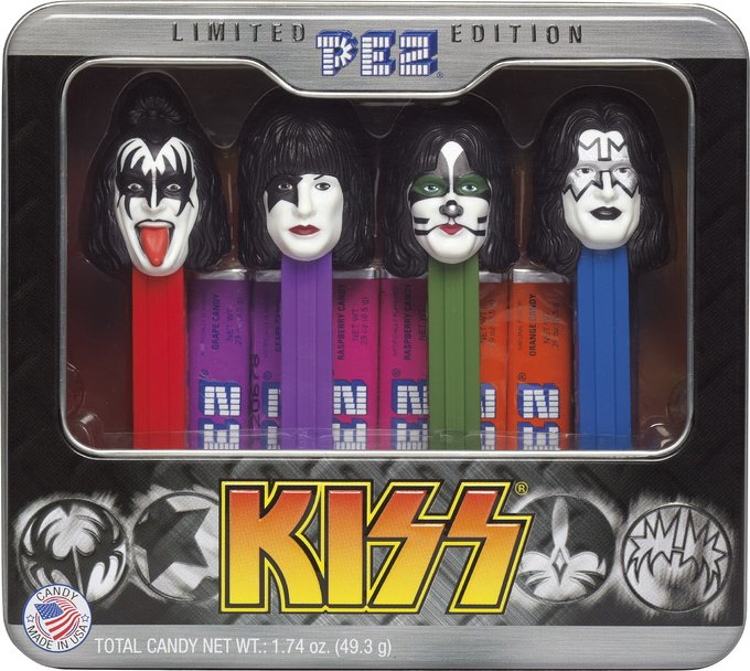 PEZ - 4-Piece Limited Edition Collectible Tin
