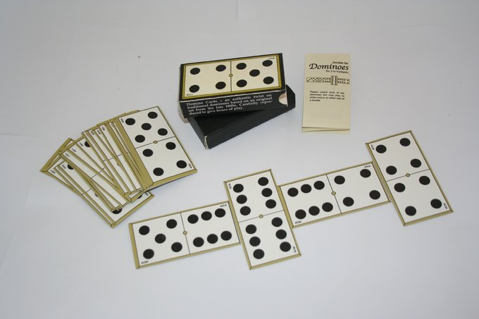 Retro Toy - Domino Cards