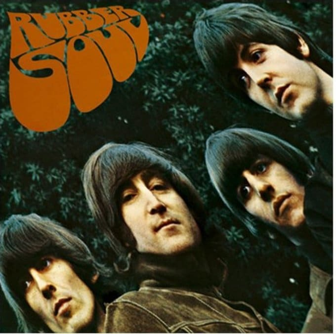Rubber Soul: Album Cover Greeting Card