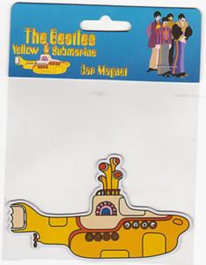 Yellow Submarine: Car Magnet