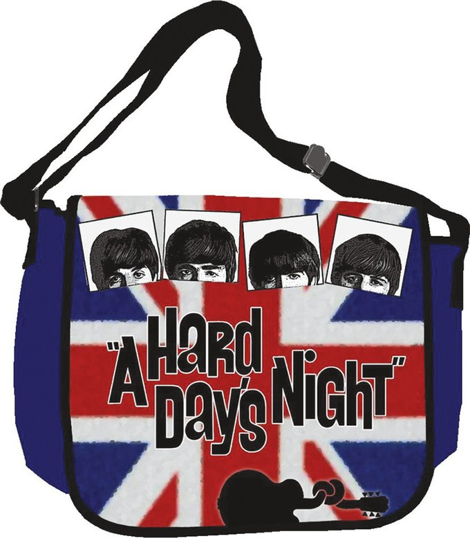 A Hard Day's Night British Flag: Messenger Bag