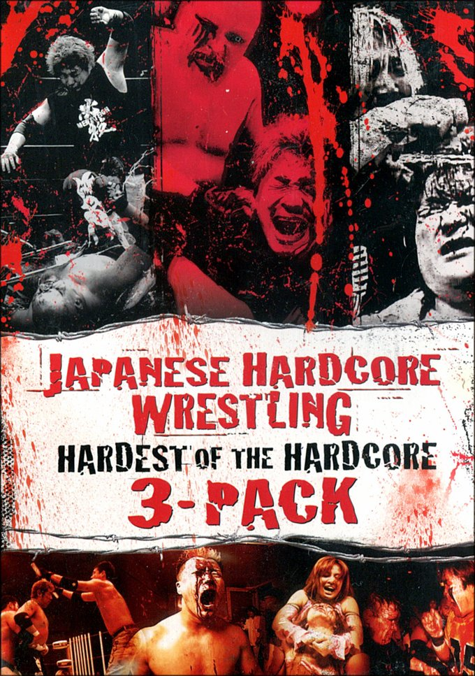Japanese Hardcore Wrestling: Hardest of the